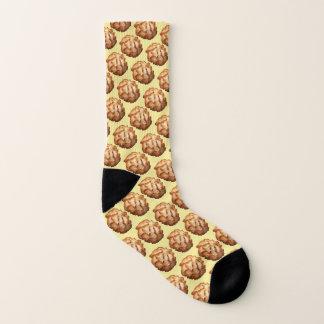 Nachtischplätzchen-Kokosnussmakronen des Socken