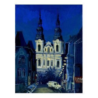 Nachtkirche Postkarte