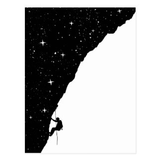 Nachtklettern Postkarte