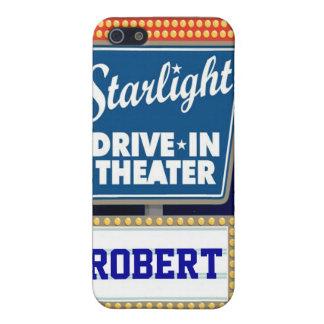 Nächtlicher Stern-Antrieb im Theater iPhone 5 Cover