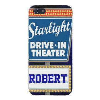 Nächtlicher Stern-Antrieb im Theater iPhone 5 Hülle