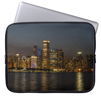 NachtSkyline Chicago Pano Laptop Sleeve