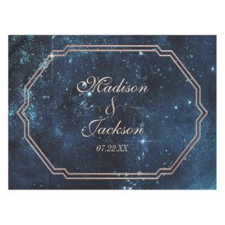 Nachtstern-Himmel-himmlisches Tischdecke