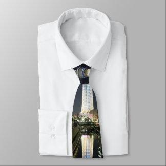 Nachtturm Individuelle Krawatten