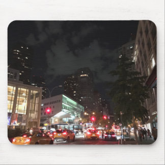 Nachtverkehr am Lincoln Center New York City NYC Mousepad