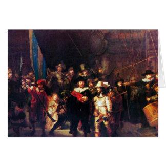 Nachtwache durch Rembrandt Harmenszoon van Rijn Karte