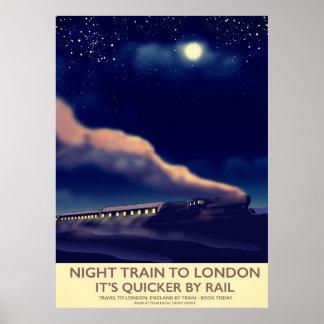 Nachtzug nach London Poster