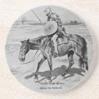 Nadie diga desta Agua kein beberé - Quijote Del Ce Untersatz
