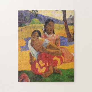 """Nafea Faa Ipoipo"" - Paul Gauguin Puzzle"