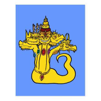 Naga - der Drache-König Postkarte