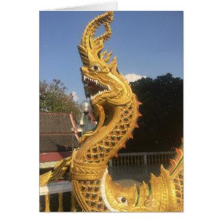 Naga im Chiang Mai, Thailand Karte
