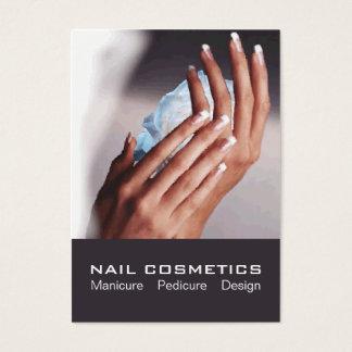 Nagel-Kosmetik 1 - Karte, Geschäft, Zeitplan Visitenkarte