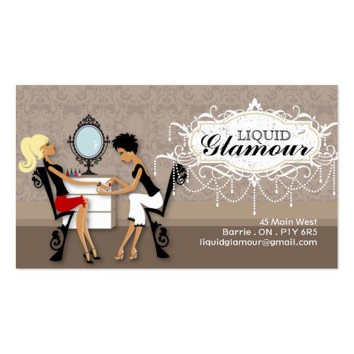 Nagel-Salon-Visitenkarte