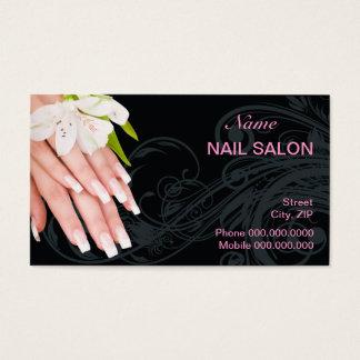 Nagel-Salon-Visitenkarte Visitenkarten