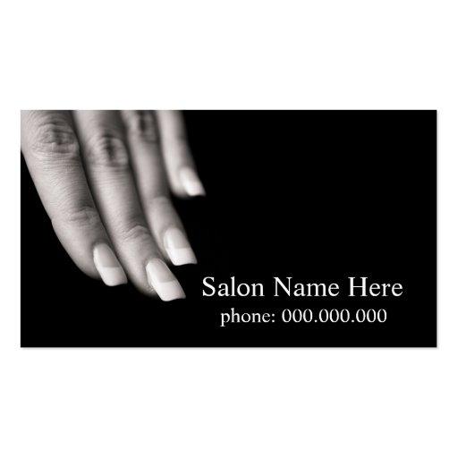Nagel-Salon-Visitenkarten