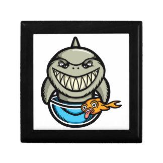 Nageln Sie den Haifisch fest Geschenkbox