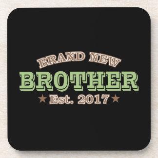 Nagelneuer Bruder Est. 2017 (Grün) Getränkeuntersetzer