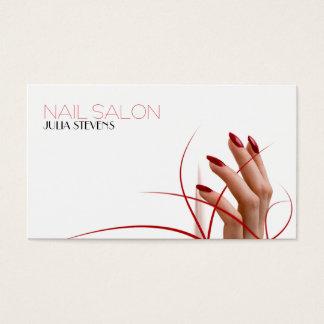 Nagelsalon-Visitenkarte Visitenkarten