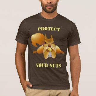 Nagetier oder ein Mann schützen Ihre Nüsse #6 T-Shirt