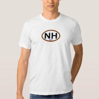 Nags-ovaler Hauptentwurf T-shirt