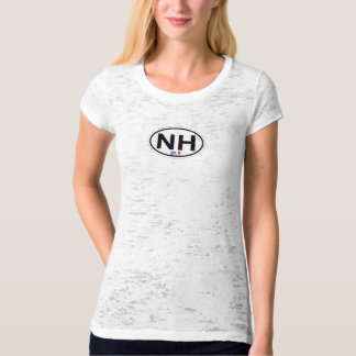 Nags-ovaler Hauptentwurf T Shirts