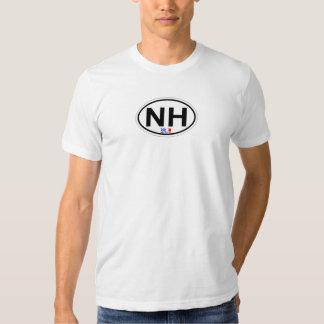 Nags-ovaler Hauptentwurf T Shirts