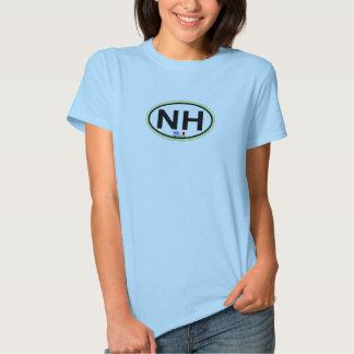 Nags-ovaler Hauptentwurf T-Shirts