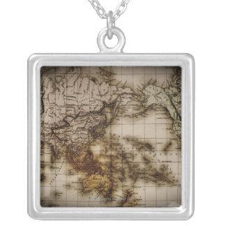 Nah oben von antiker Weltkarte 6 Schmuck