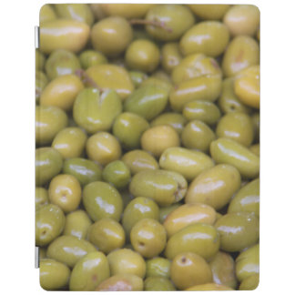 Nah oben von den grünen Oliven iPad Hülle