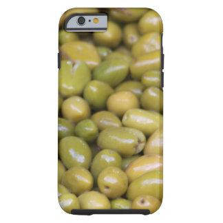 Nah oben von den grünen Oliven Tough iPhone 6 Hülle