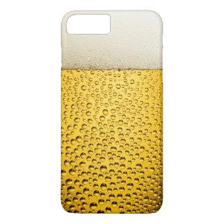 Nahaufnahme-Bier-Glas iPhone 6 Plusfall iPhone 8 Plus/7 Plus Hülle