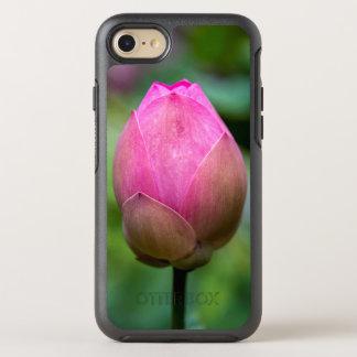 Nahaufnahme der Lotos-Blumenknospe, Bali OtterBox Symmetry iPhone 8/7 Hülle
