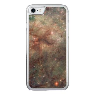 Nahaufnahme des Tarantula-Nebelflecks Carved iPhone 8/7 Hülle