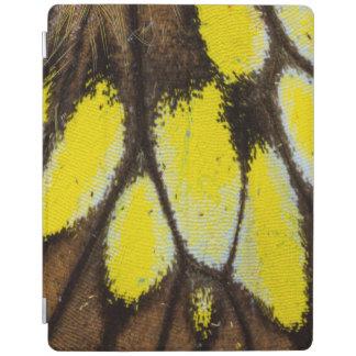 Nahaufnahme-Flügel-Muster des tropischen iPad Smart Cover