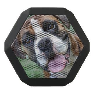 Nahaufnahme-Foto eines niedlichen Schwarze Bluetooth Lautsprecher