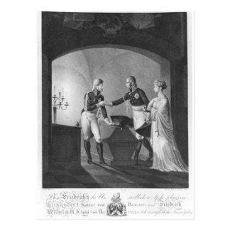 Nahe der Asche von Friederick II Postkarte