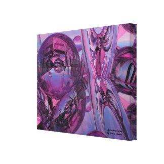 Nähernde Leinwanddruck-Wandkunst des Schicksals Leinwanddruck