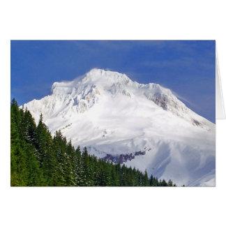 Nähernde Mt.-Haube Karte