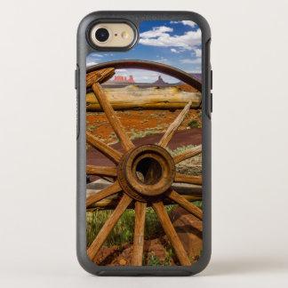 Nahes hohes des Lastwagenrades, Arizona OtterBox Symmetry iPhone 8/7 Hülle