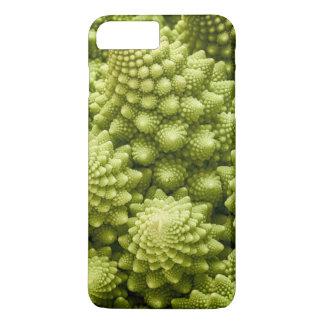 Nahes hohes des Romanesco Brokkoli-Gemüses iPhone 8 Plus/7 Plus Hülle