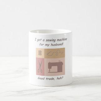 Nähmaschine für meinen Ehemann Kaffeetasse