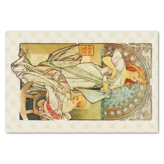 Nahrung 1898 Alfons Mucha für Säuglinge Seidenpapier