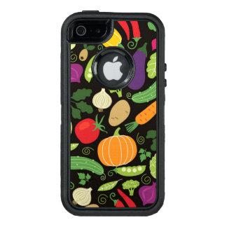 Nahrung auf einem schwarzen Hintergrund OtterBox iPhone 5/5s/SE Hülle