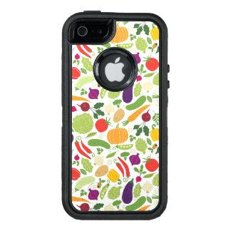 Nahrung auf einem weißen Hintergrund OtterBox iPhone 5/5s/SE Hülle