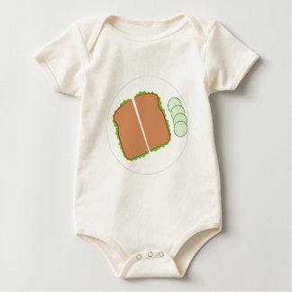 Nahrung Baby Strampler