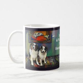 Nahrung für die Augen-Tasse Kaffeetasse