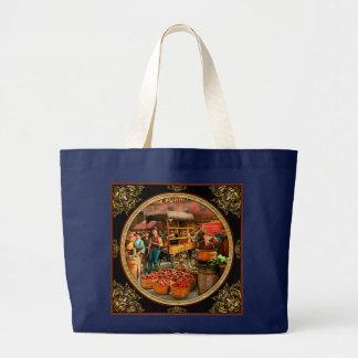 Nahrung - Gemüse - Indianapolis-Markt 1908 Jumbo Stoffbeutel