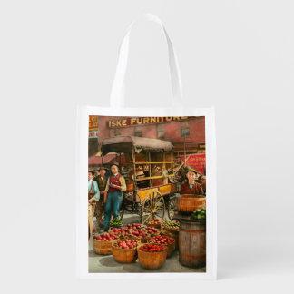 Nahrung - Gemüse - Indianapolis-Markt 1908 Wiederverwendbare Einkaufstasche
