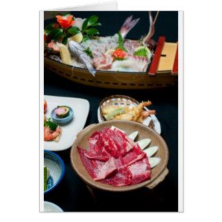 Nahrung in Japan, japanische Nahrung Karte