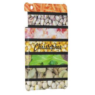 Nahrung STripes iPad Minifall-Schablone iPad Mini Hülle